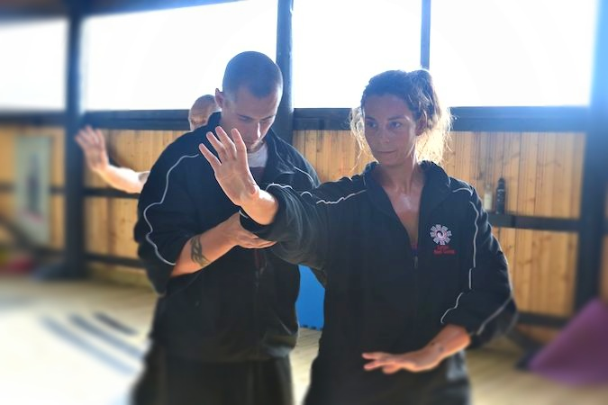 Teaching Xingyiquan